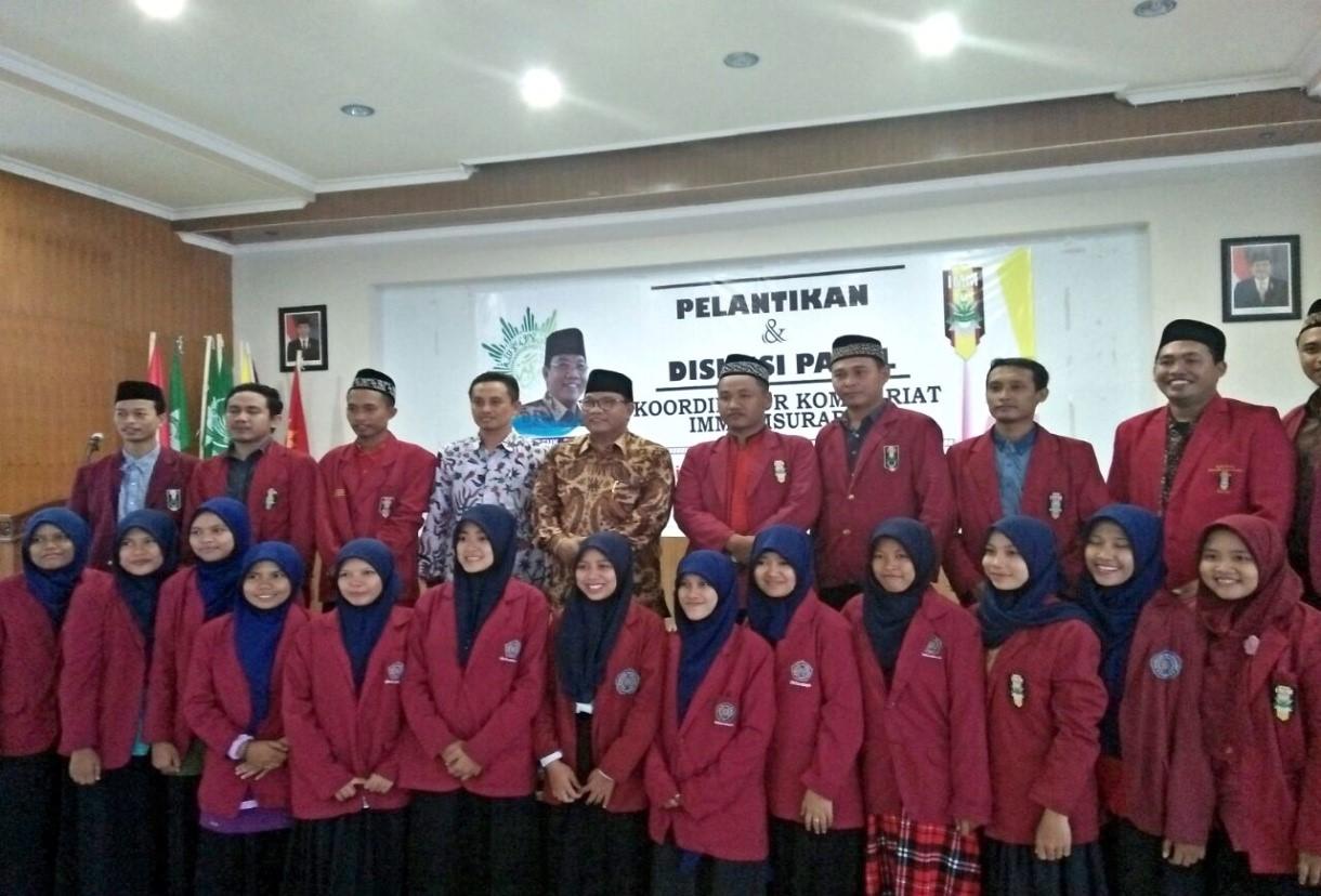 Pergantian Jajaran Pengurus Koorkom, Bukti Hidupnya Regenerasi Kader IMM di UM Surabaya
