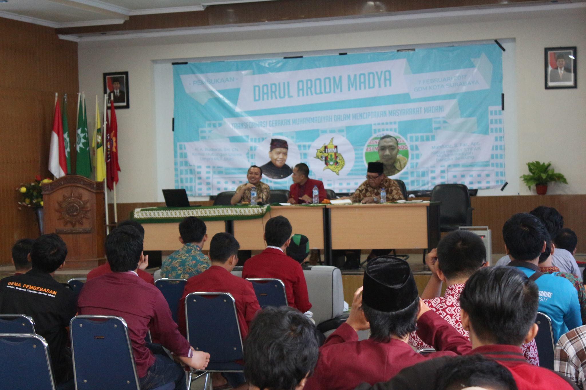 IMM Kota Surabaya Mengupayakan Lahirnya Kader Madani Melalui Darul Arqom Madya