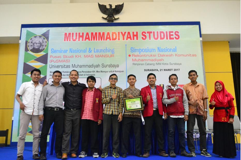 Simposium Nasional IMM Kota Surabaya, Menggali Potensi Literasi Kader dan Nalar Kritis terkait Dakwah Komunitas Muhammadiyah