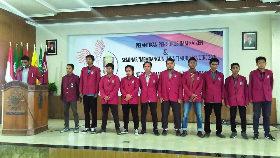 "Pelantikan PK IMM Teknik ""Kaizen"" Universitas Muhammadiyah Surabaya"