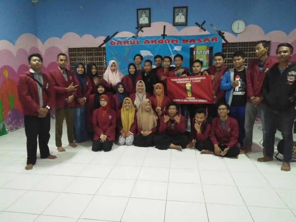 Materi DAD IMM Komisariat Kaizen Teknik Universitas Muhammadiyah Surabaya Disampaikan Oleh Pemateri-Pemateri yang Kompeten