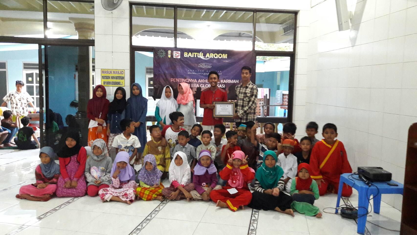 Baitul Arqam, Bentuk Upaya IMM Al Fatih Dalam Menanamkan Sifat Akhlaqul Karimah Untuk Anak-Anak Sekitar Masjid