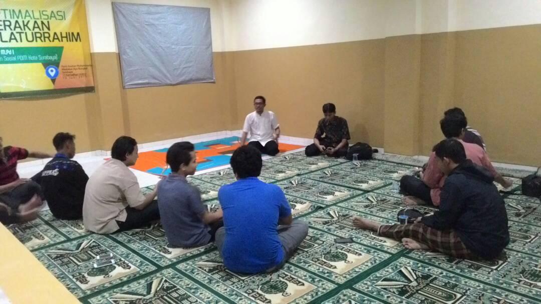 "Komunitas Mahasiswa Muhammadiyah UPN ""Veteran"" Jawa Timur Adakan ""KARAMEL"" Sebagai Langkah Awal Pembentukan IMM Komisariat UPN"