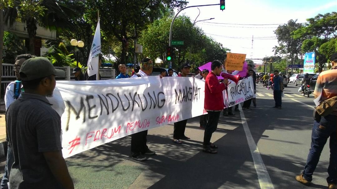 Bersama Forum Pemuda Surabaya, IMM Kota Surabaya Tolak Rencana Penurunan Pajak Hiburan Malam
