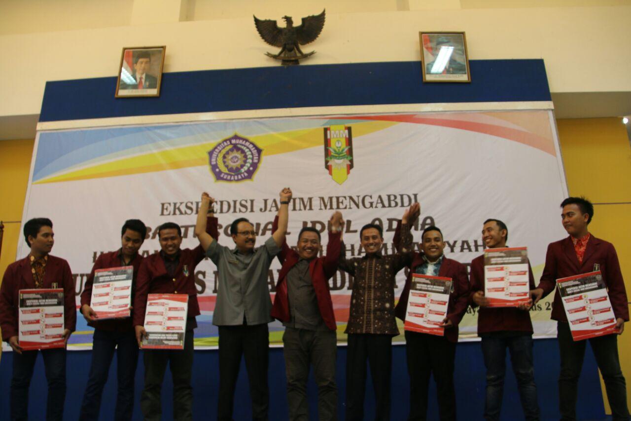 Ekspedisi Jatim Mengabdi oleh IMM UM Surabaya Sebagai Bentuk Aktualisasi Tri Kompetensi Dasar