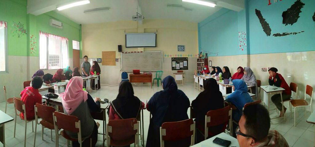 Suasana Ruang Materi Saat Forum Grup Discussion Materi Keislaman dan Kemuhammadiyahan