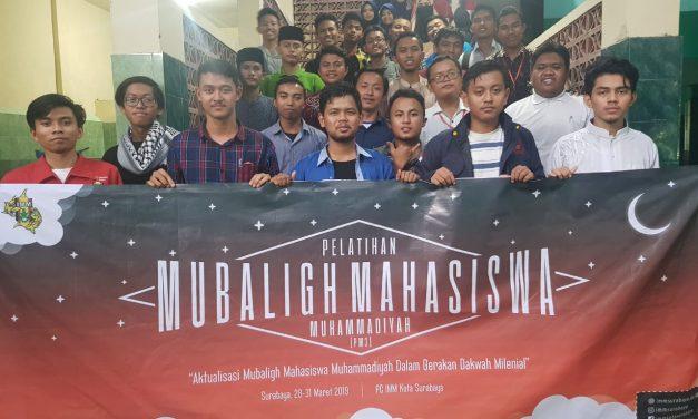 PC IMM KOTA SURABAYA GELAR PELATIHAN MUBALIGH MAHASISWA MUHAMMADIYAH WUJUD GERAKAN DAKWAH MILLENIAL