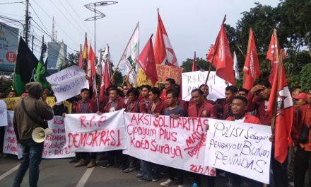Cipayung Surabaya Meminta Polisi Tak Represif Terhadap Aktivis yang Mengkritik Pemerintah