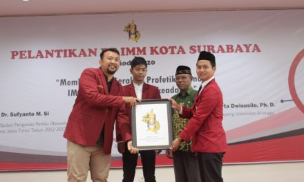 Terpilih sebagai Nakhoda Baru IMM Kota Surabaya, Inilah Harapan Devi Kurniawan