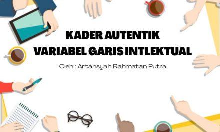 KADER AUTENTIK VARIABEL GARIS INTLEKTUAL