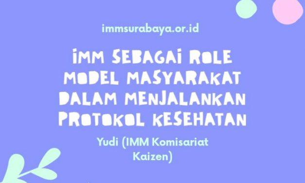 Ikatan Mahasiswa Muhammadiyah sebagai role model masyarakat dalam menjalankan protokol kesehatan